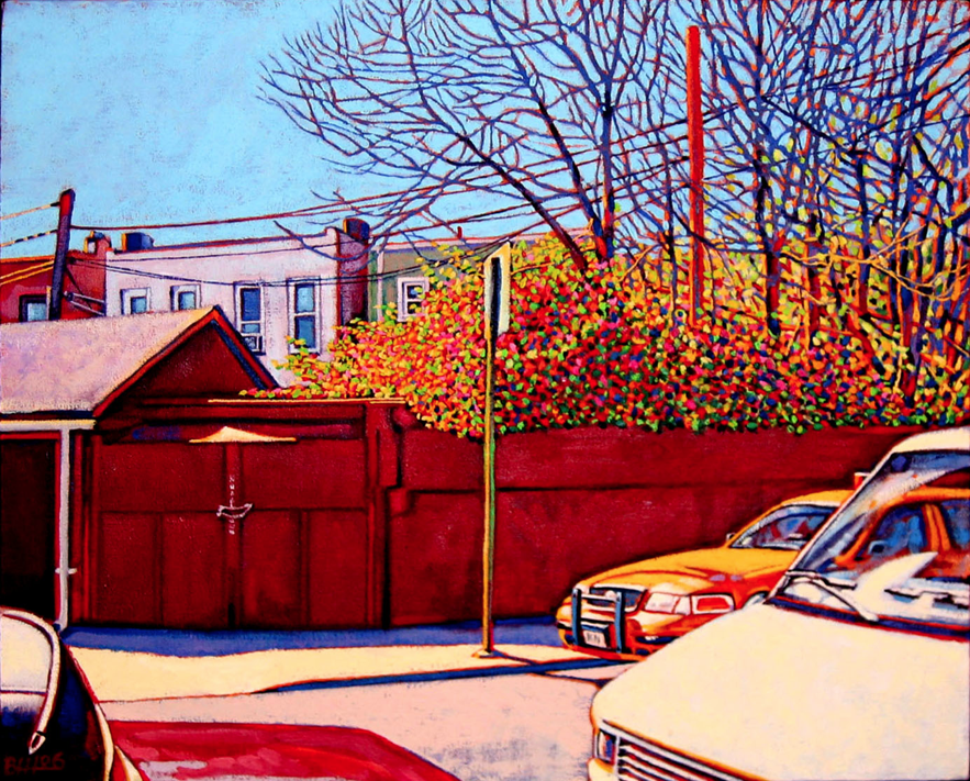 """Astoria Spring"" by Bennett Horowitz $600"