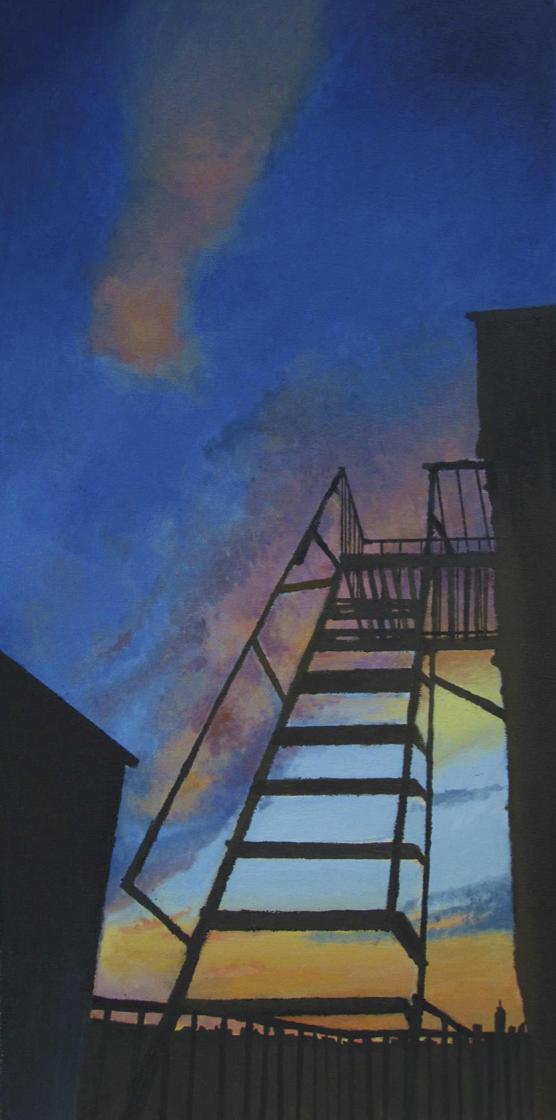 """""""Sunset"""" by Luna Hattori $150"""