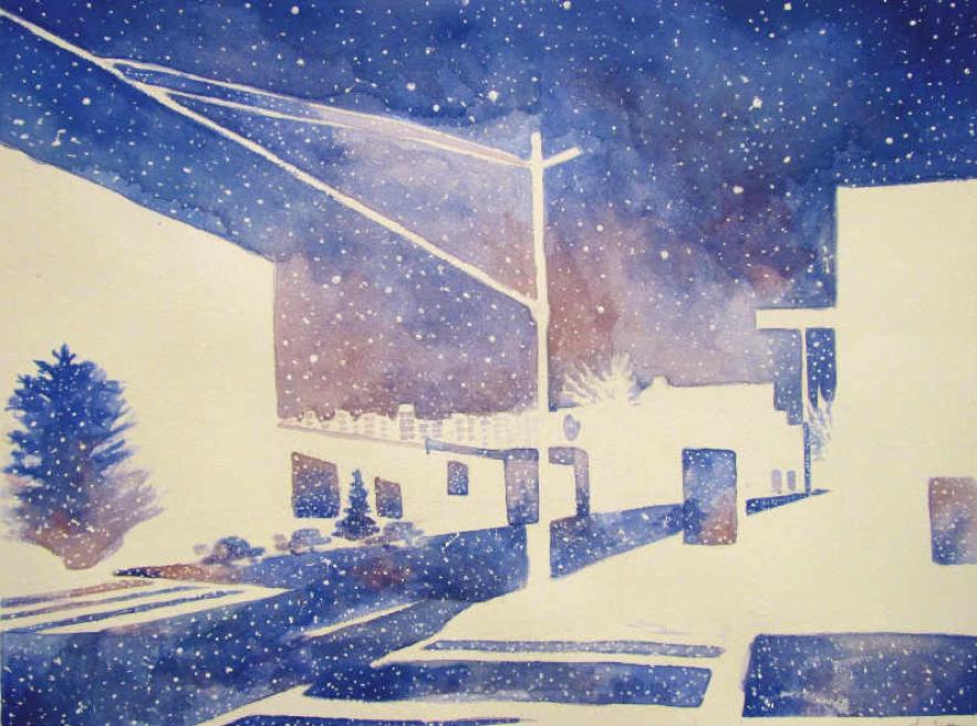"""Interiors"" by Luna Hattori $100"