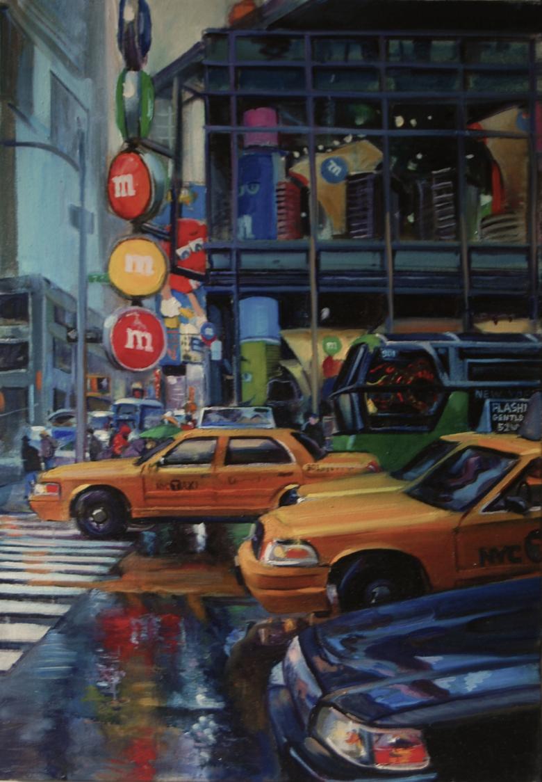 """M&M Taxi"" by James Harrington $1500"