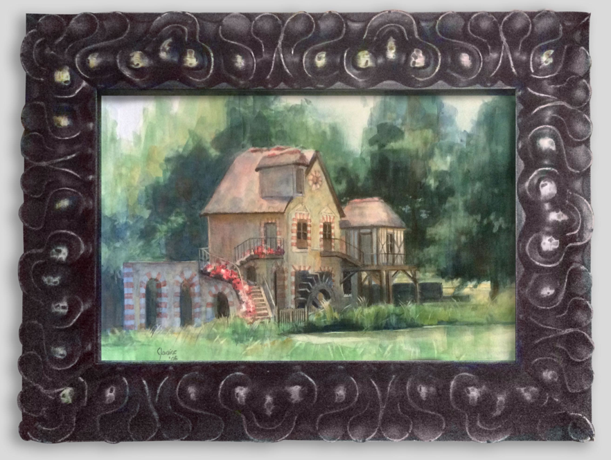 """""""Cottage at Versailles"""" by Janice Edelman $200"""