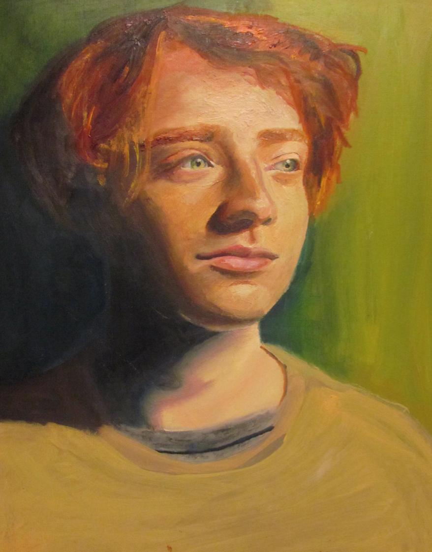 """""""Red"""" by Zienna Brissett $100"""