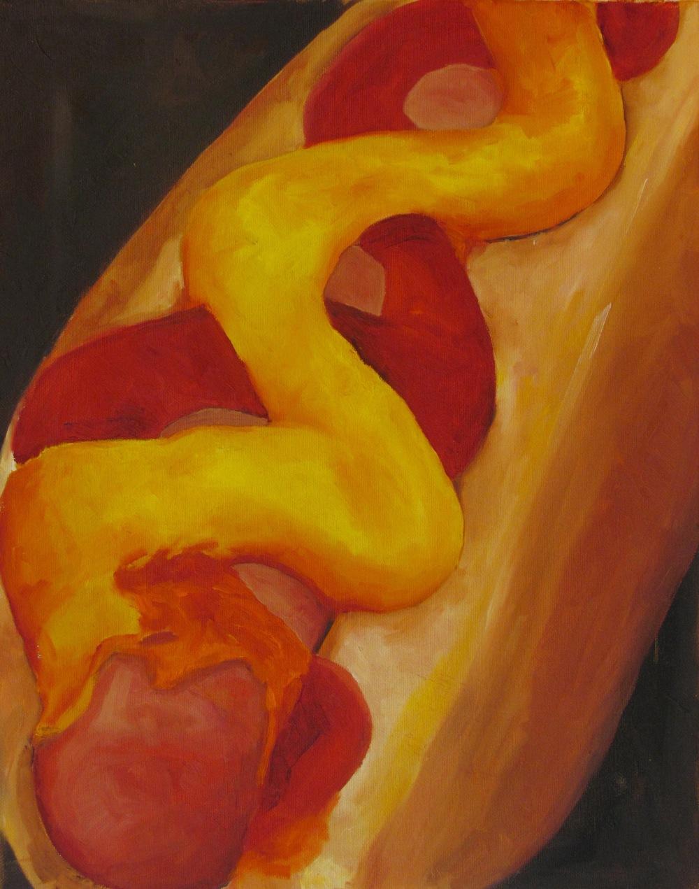 """Hot Dog"" by Shekinah Guab $500"