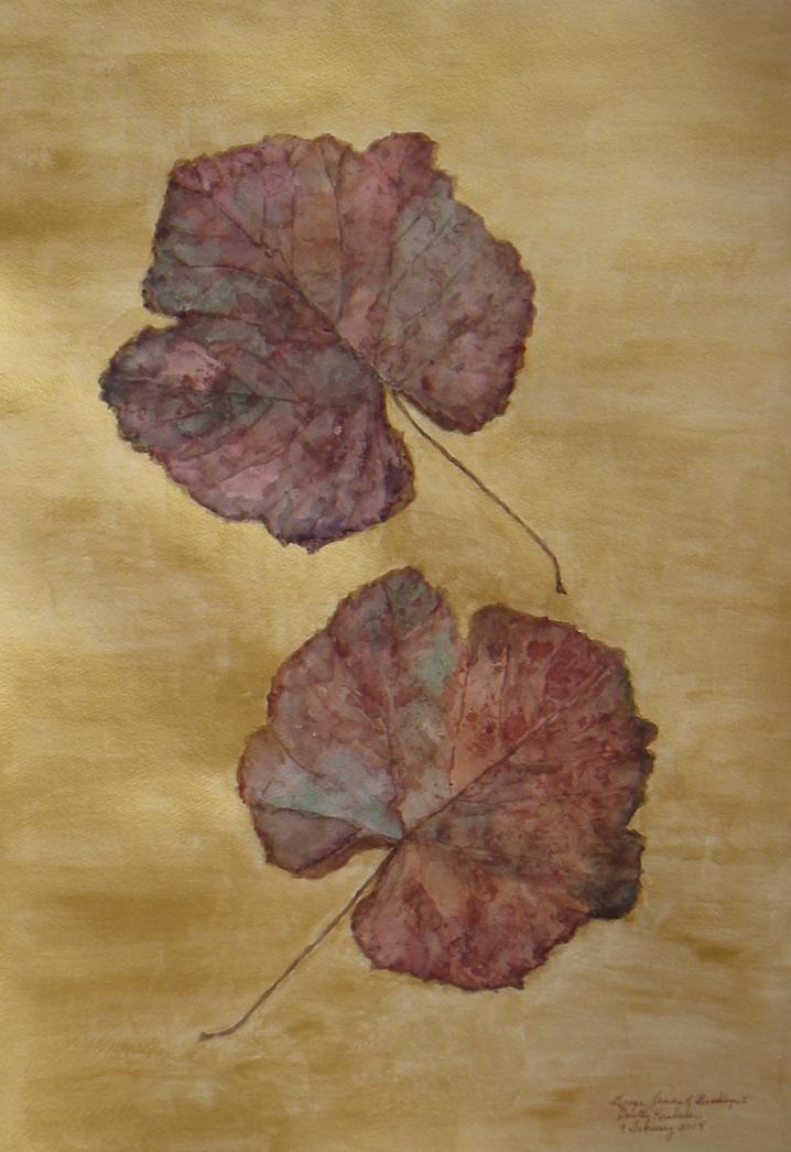 """Grape Leaves of Brooklyn I"" by Dorothy Krakauer $1000"