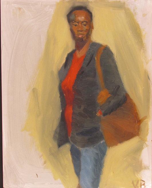 """""""Connie"""" by Victor Bustamante $200"""