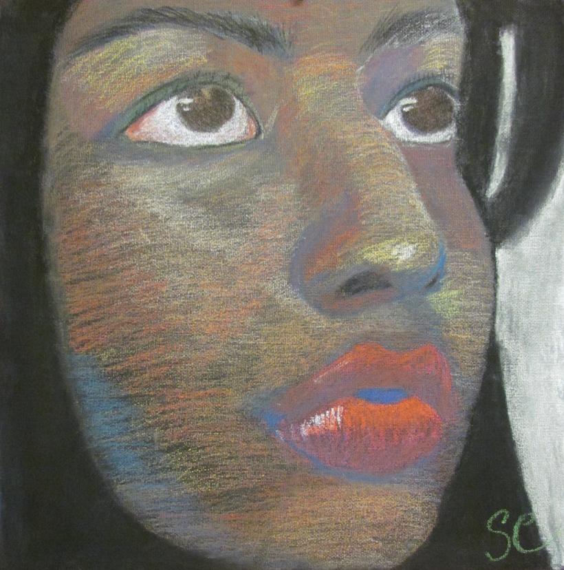 """Meli Close Up"" by Salma Cortes $100"
