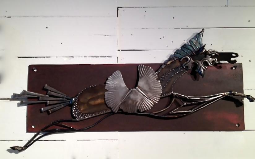 """Tencendor War Horse"" by Janet Rutkowski $1400"
