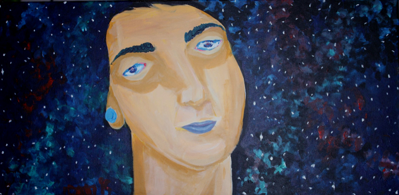 """Nebula Dreams"" by Donatella Mazzella $288"