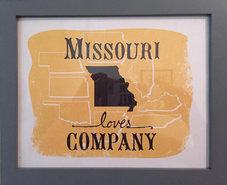 """""""Missouri Loves Company"""" by Heather Heckel $30"""