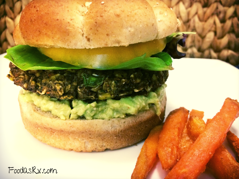 Bodacious Black Bean Burger — Food as Rx