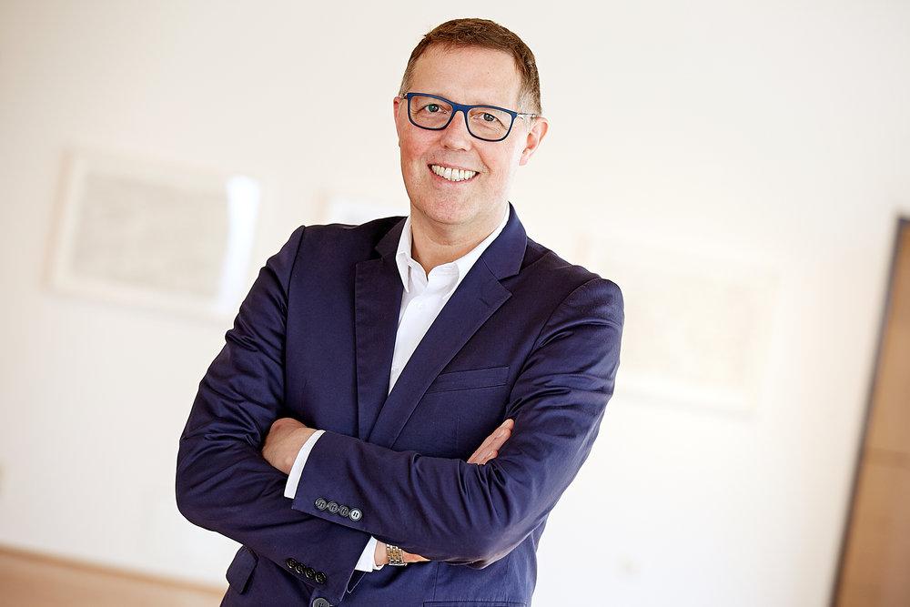 Thomas Helfrich, Leiter Bayer Kultur © Behrendt und Rausch