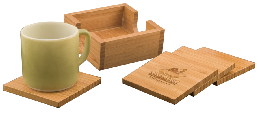 Bamboo Coasters  >>  starts at $24.95