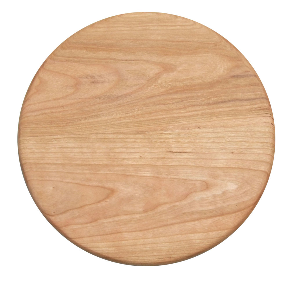Hordwood ROUND Cherry Boards >> starts at $49.95