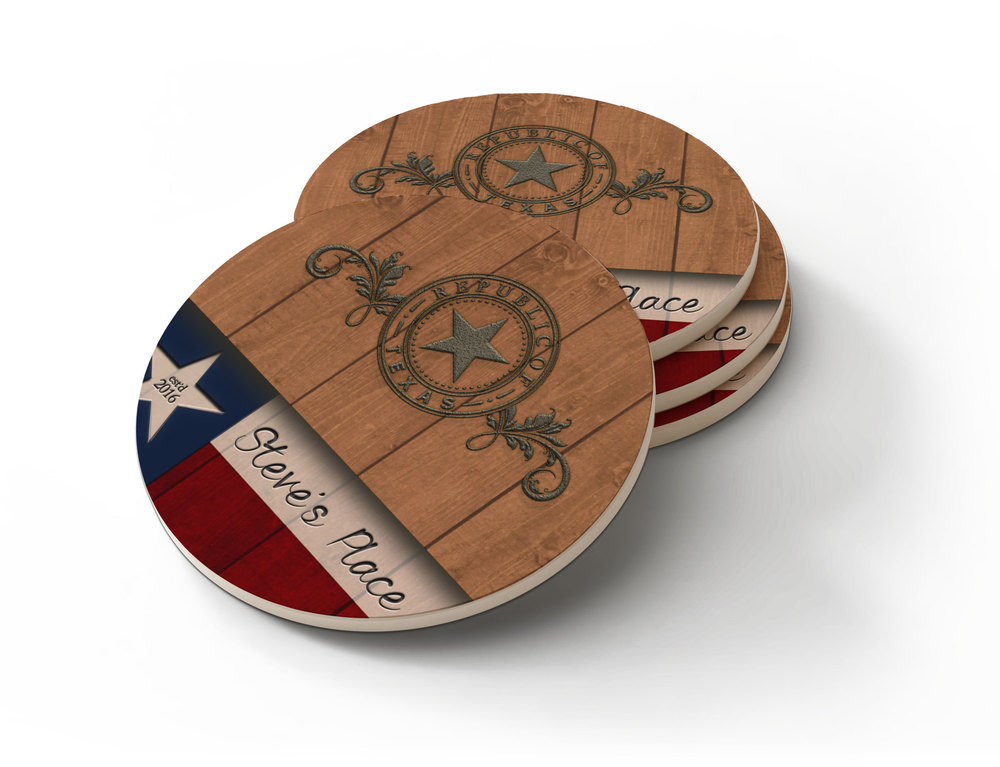 >> Sandstone Coasters  • starts at $34.95