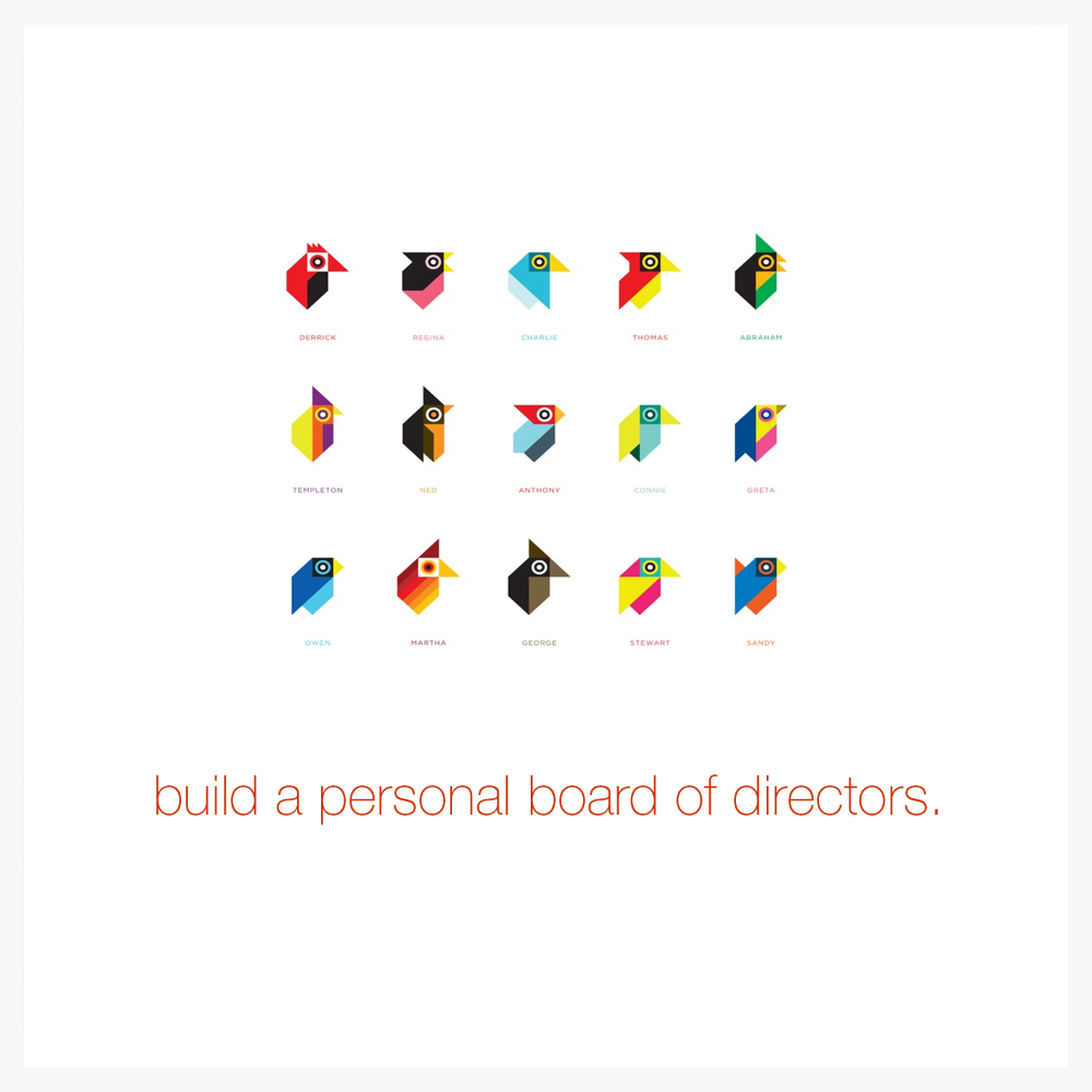 Build a personal board of directors