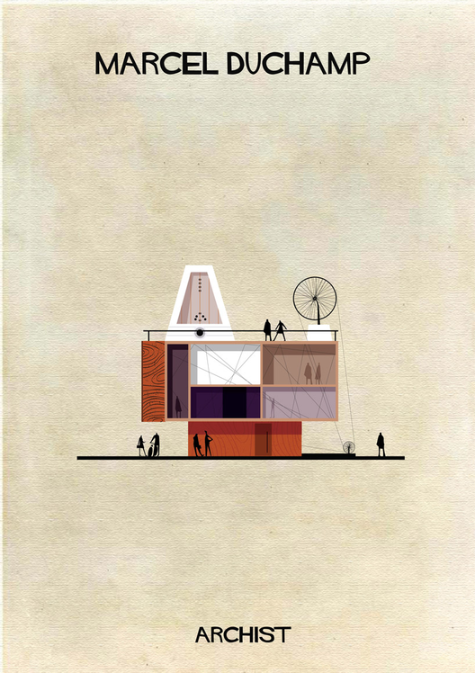Duchamp Art as Architecture