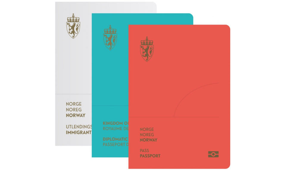 new design norway passport