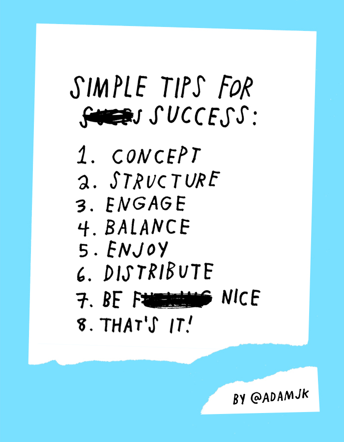 Life & Business: Simple Tips For Success by Adam J. Kurtz
