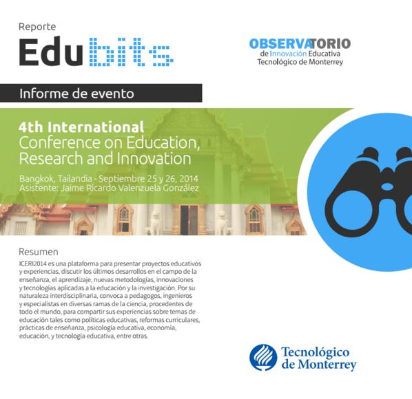 REPORTE EDU BITS ICERI 2014