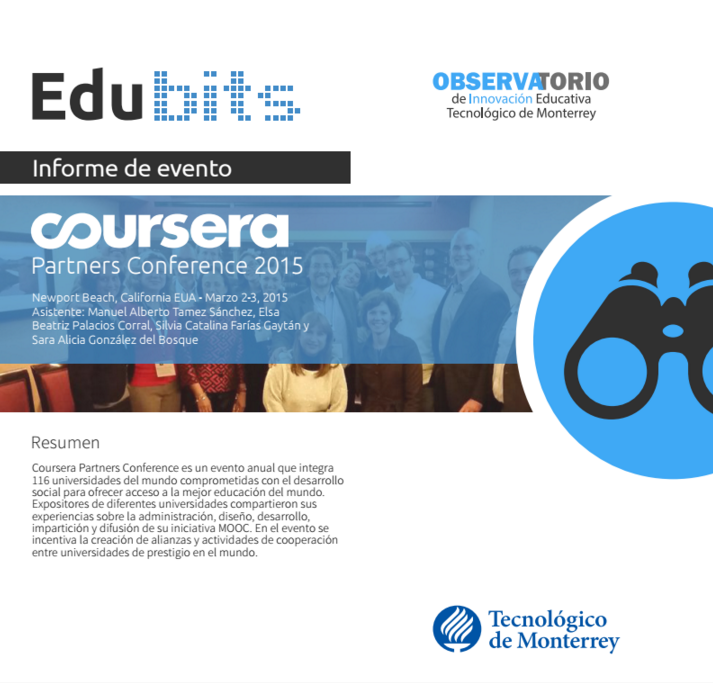 Edu Bits Coursera Partners Conference 2015