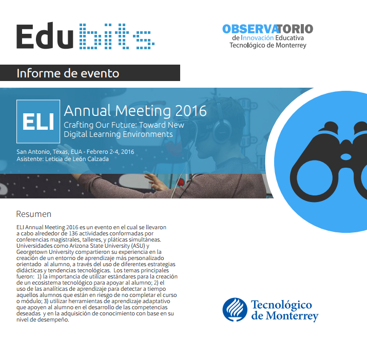 ELI ANNUAL MEETING 2016