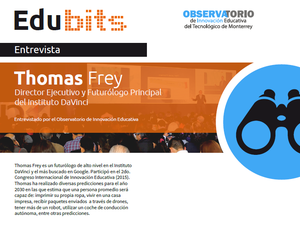 Edu bits Thomas Frey