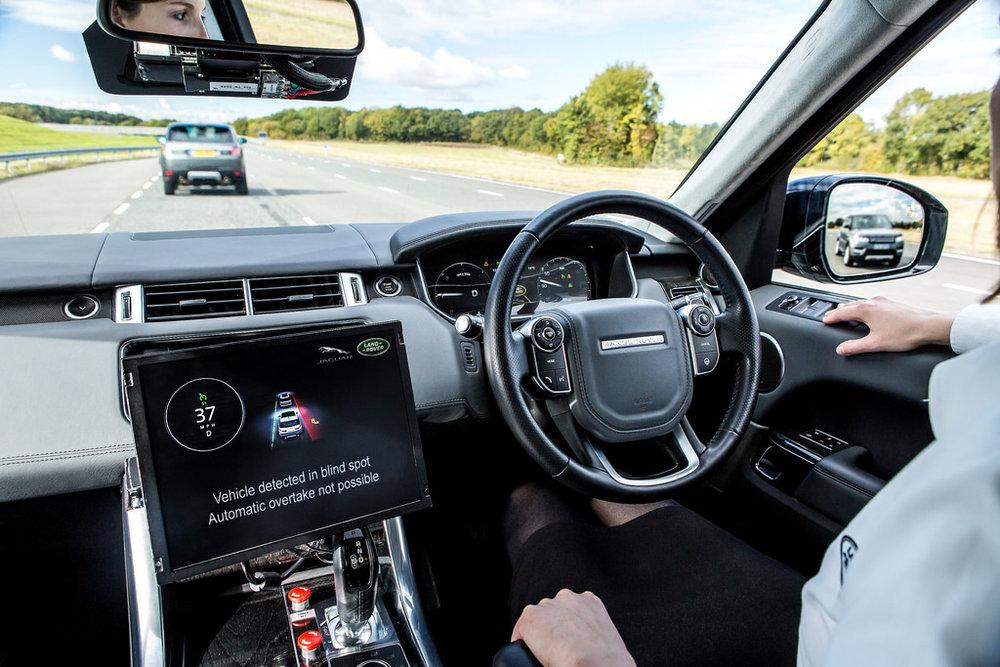 Tecnologías de vehículos autónomos / Jaguar
