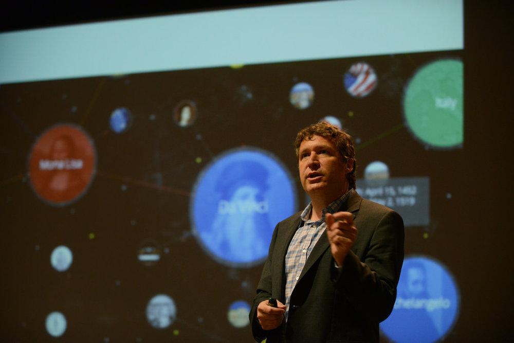 George Siemens, Director Ejecutivo del Laboratorio de Aprendizaje, Innovación y Conocimientos en Red (LINK) de la Universidad de Texas en Arlington. - Foto: Flickr