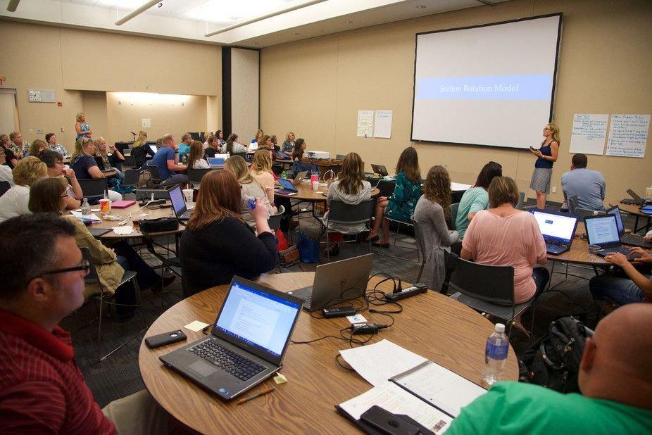 73% de los profesores encuestados respondieron que usan el aprendizaje semipresencial en sus cursos, en comparación con 71% en la encuesta del año pasado. - Foto: Flickr