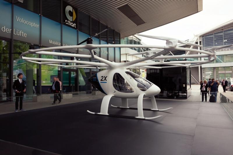 Udacity impulsa el sueño de ingenieros por lograr que el transporte aéreo autónomo sea accesible para todos con nuevo programa educativo. - Foto: Volocopter de Intel.