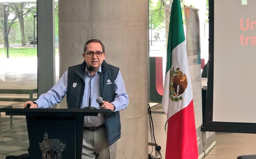 El presidente del Tec exaltó que México tiene un déficit de universidades de calidad. Dentro de la lista de las mejores 300 instituciones educativas del mundo sólo figuran 2 mexicanas. -