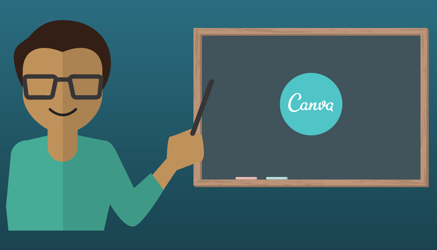 Con Canva podrás representar de forma atractiva tu contenido de instrucción. Además, tendrás la opción de enriquecer tu material educativo con plantillas prediseñadas. - Imagen diseñada en Canva.