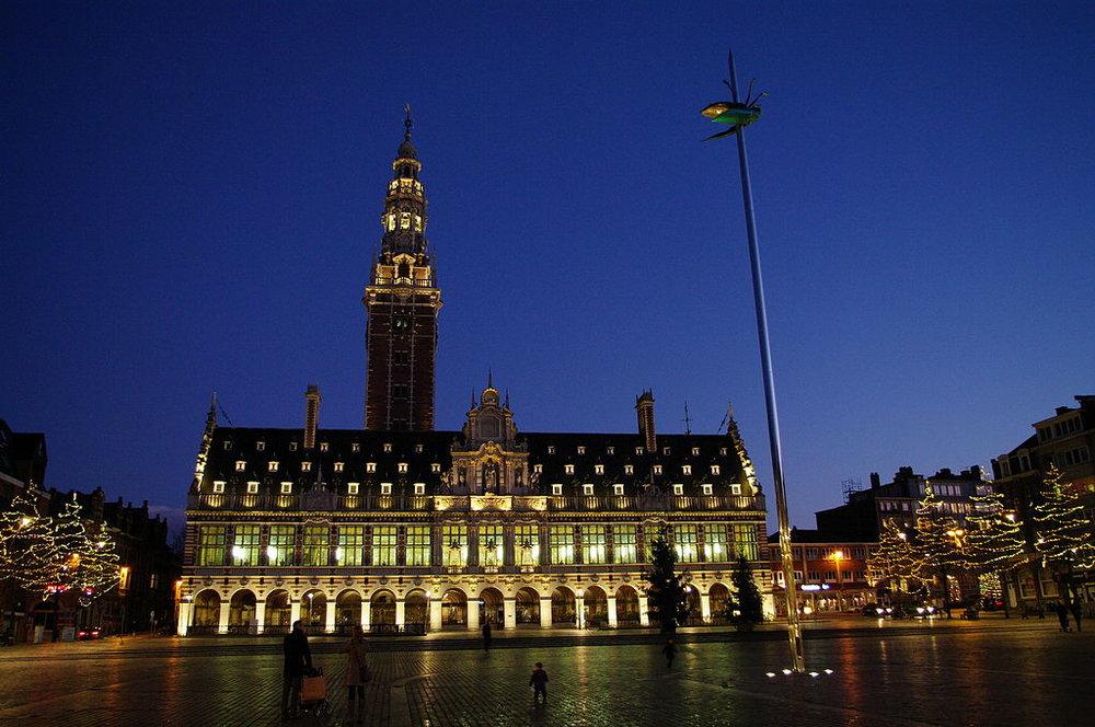 La biblioteca de KU Leuven / Foto: Soti