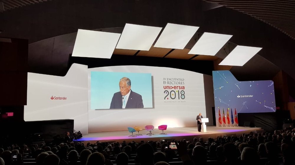 Encuentro de rectores Universia 2018