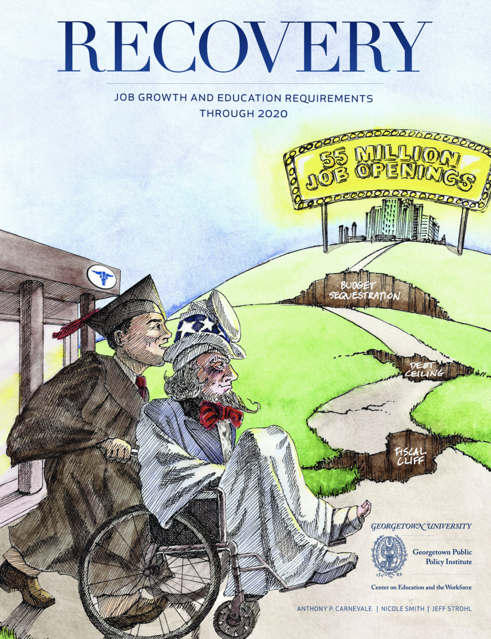 Reporte:  Recovery: Projections of Jobs and Education Requirements Through 2020.