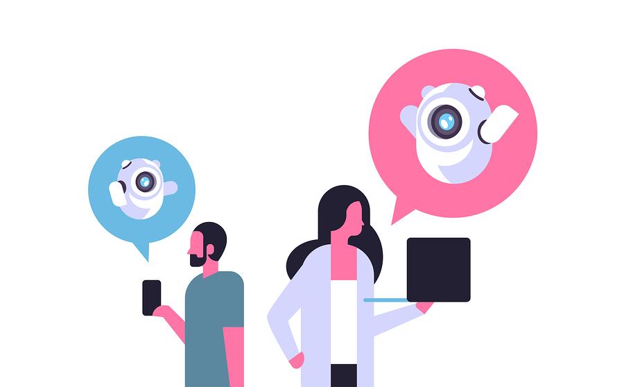 Dos especializaciones para desarrollar chatbots y crear aplicaciones de inteligencia artificial, que se pueden cursar de manera gratuita en edX. - Imagen: Bigstock