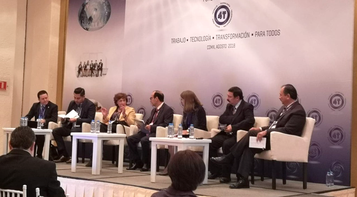 """Foro Internacional """"Mundo 4T: Trabajo, Tecnología y Transformación para Todos"""""""