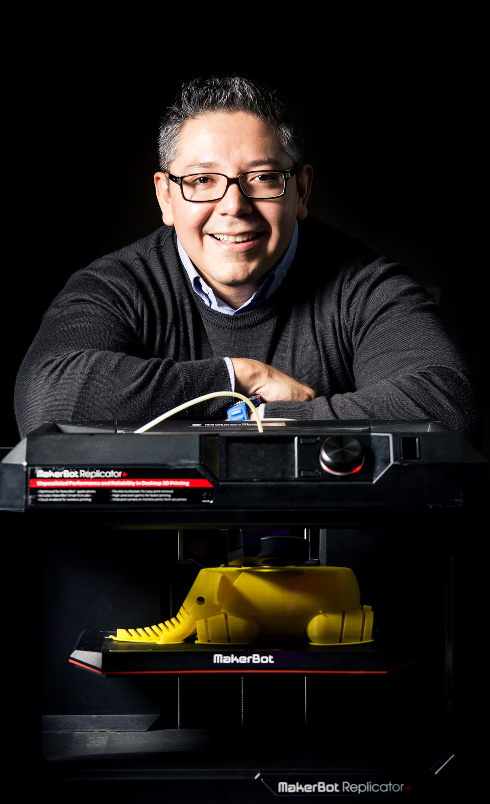 Felipe Rosales, Director General de MakerBot en Latinoamérica.