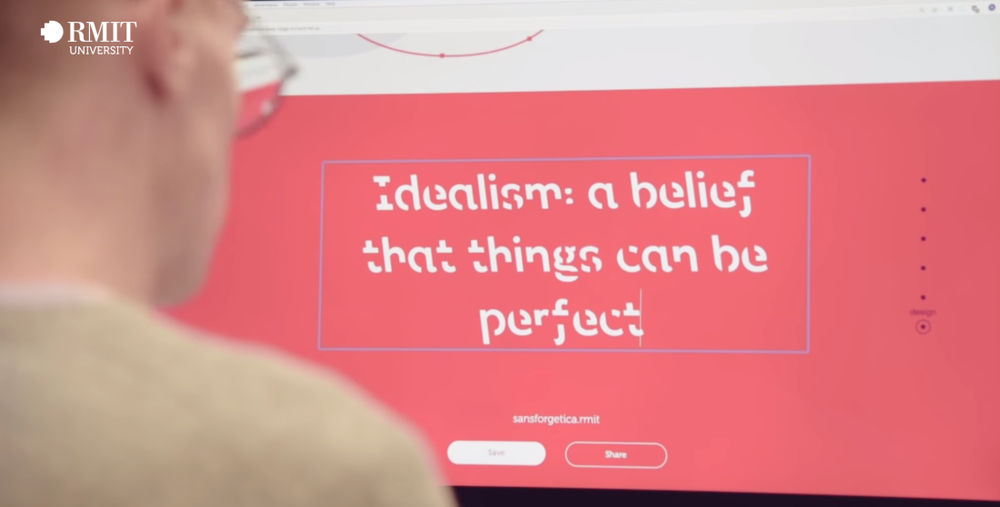 Investigadores Australianos desarrollan una tipografía que mejora la retención de información en estudiantes. - Foto: RMIT University