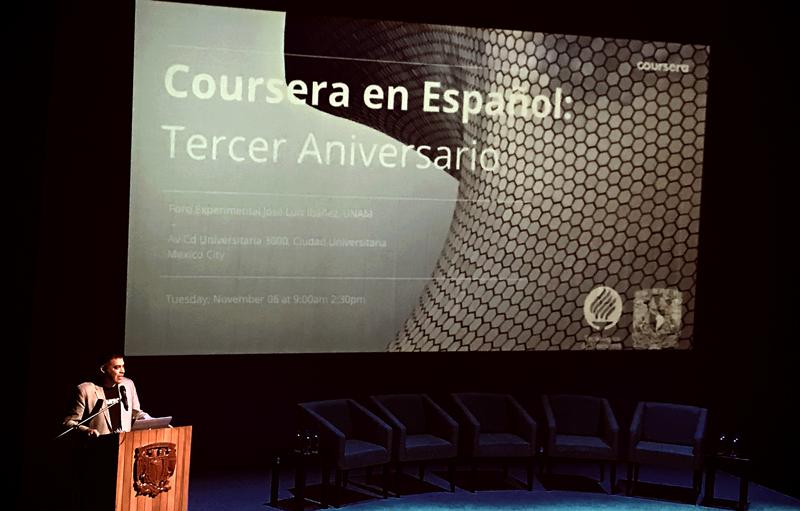 El reto de Coursera es lograr desarrollar en los hispanos competencias necesarias para los trabajos del futuro a través de cursos de negocios y tecnología de vanguardia. -