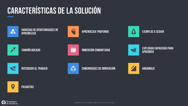 Imagen 2. CARACTERÍSTICAS DE LA SOLUCIÓN / Autor: Christiam Mendoza
