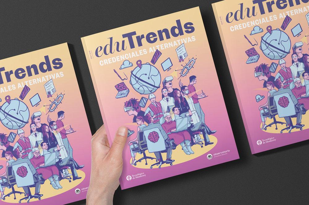 Credenciales alternativas reporte edu trends