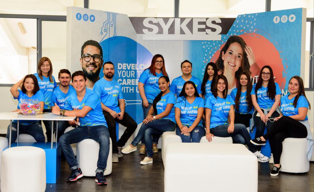 Sykes fue premiado como Best Team en Expoempleo realizado en abril 2018 por ser el equipo más creativo y mejor organizado.