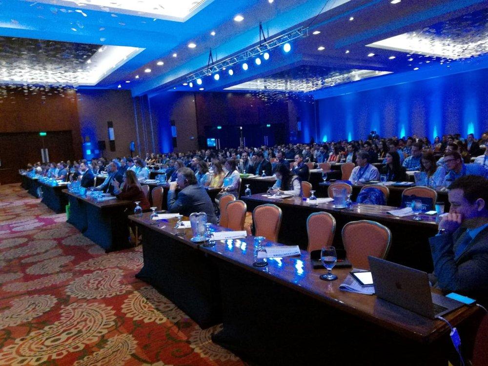 Más de 100 empresas en conjunto con 350 líderes comparten sus conocimientos sobre la transformación digital en el Hotel Intercontinental.