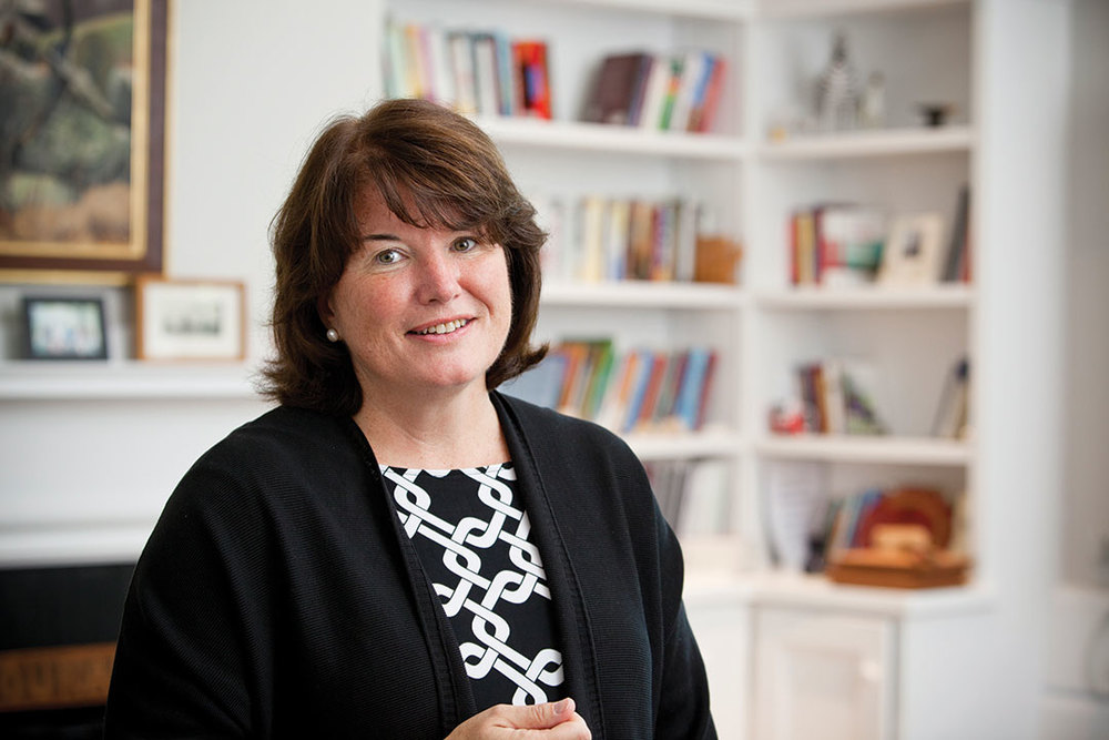 "<div class=""ch"">Kathy Giles P'06'09'11, Head of School, English</div>"