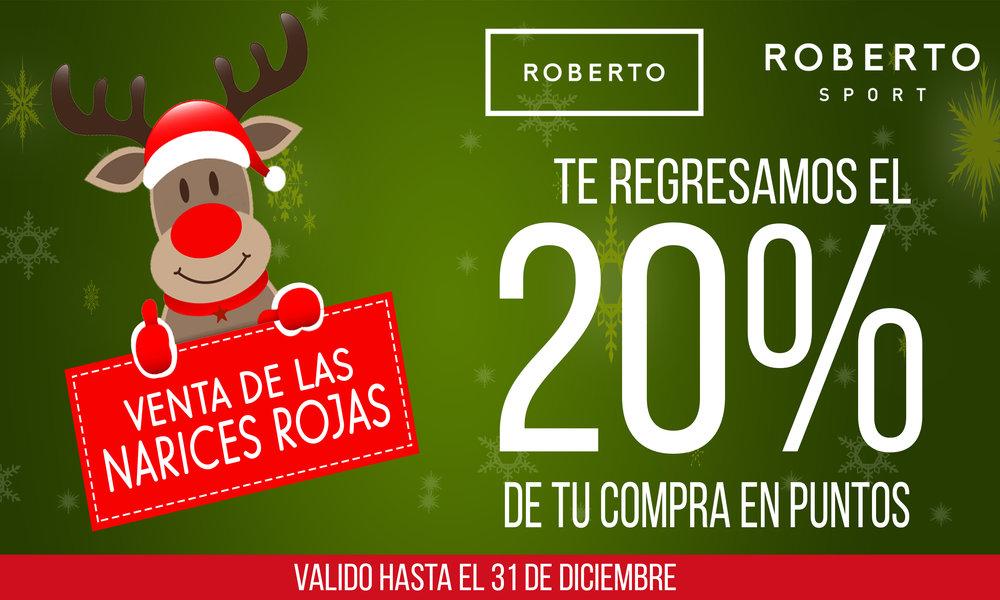 Venta de las narices rojas - Hasta el 31 de Diciembre del 2018