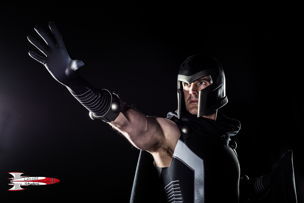 Magneto inspired - Shot in my studio - Cosplayer Mike Powell