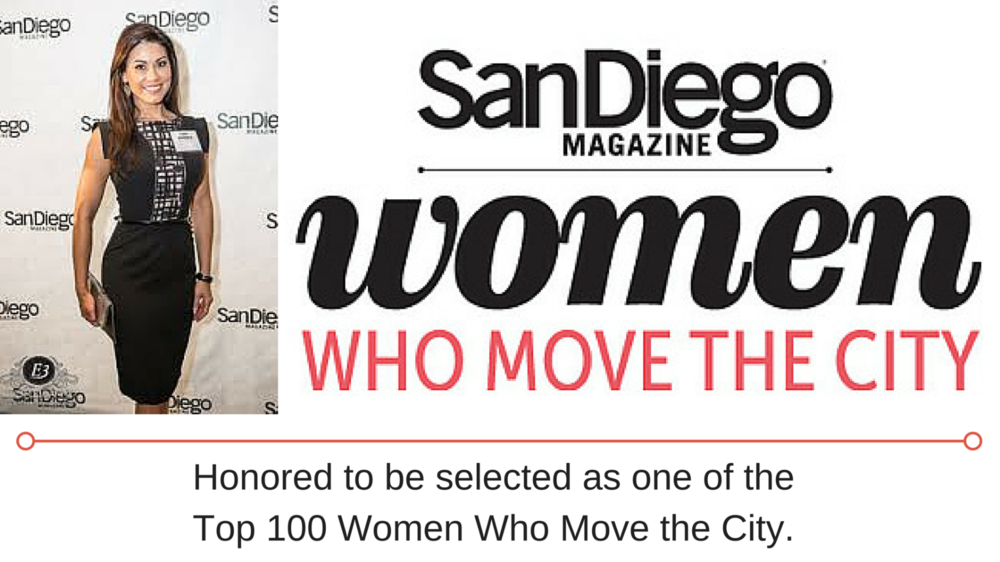 San Diego Magazine Women who move the City Kimi Evans