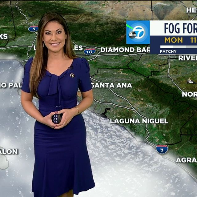 Good Monday Morning!  Partly cloudy ⛅️ for today, but we're expecting more rain this week! ☔️ @abc7la