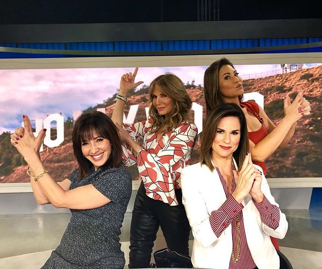 So this just happened!!! BEST. DAY. EVER. OMG 😃 Dream come true!  We're all the new official Charlie's Angels!!! ⭐️ With the OG, Jaclyn Smith!  Well...maybe not so official, but a girl can dream! 😉  @abc7la @abc7jovana  @abc7coleen #charliesangels #jaclynsmith @helloitsjaclyn